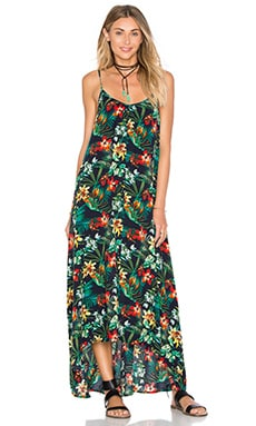 Resort Maxi Dress in Forest