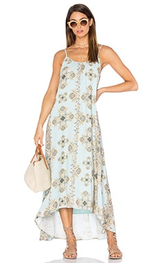 Resort Maxi Dress en Opulence Print