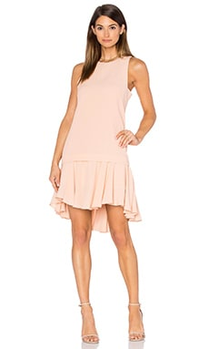 Pink Stitch Alexa Dress in Blush