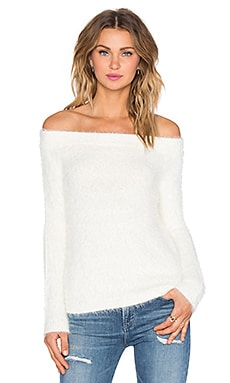 Sweetheart Sweater in Ivory