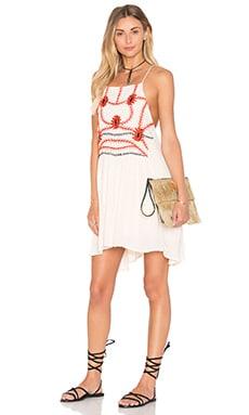 Sumatra Flare Mini Dress
