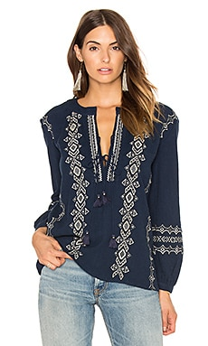 Sanor Blouse en Saphir