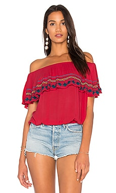 Byron Strapless Top