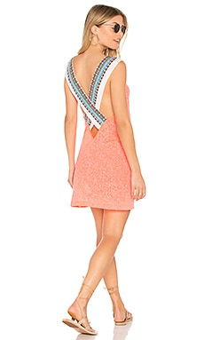 Cross Back Dress in Watermelon