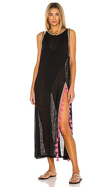 Tassel Slit Dress Pitusa $154