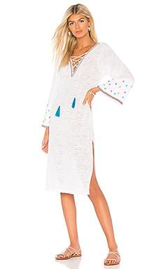 Платье - Pitusa, Длинные рукава, Перу, Белый  - купить со скидкой