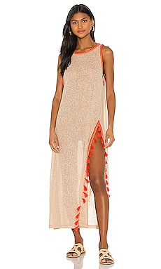 Tassel Slit Dress Pitusa $154