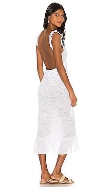 Crossover Ruffle Dress Pitusa $105