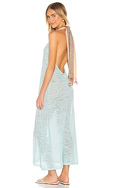 Llama Halter Dress Pitusa $120 NEW