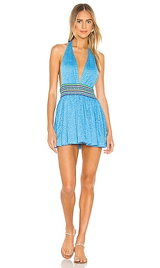 Mini Halter Dress Pitusa $75