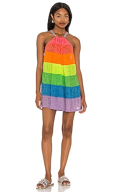 Popsicle Halter Mini Dress Pitusa $105