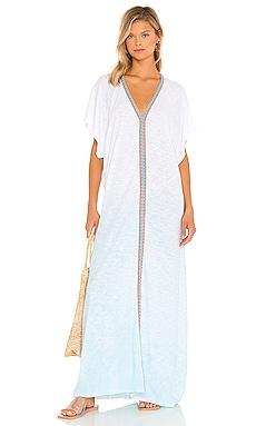 Dip Dye Pima Abaya Dress Pitusa $140