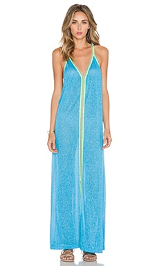 Pitusa Inca Sun Dress in Blue