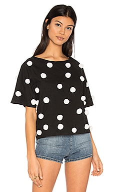 Pom Pom Shirt in Black