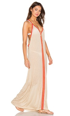 Pitusa Inca Sun Dress in Nude