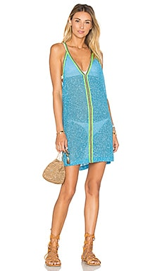 Pitusa Mini Sundress in Blue