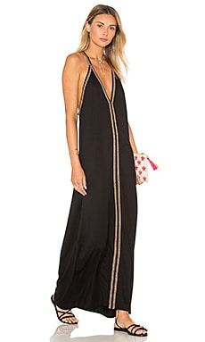 Pitusa Pima Sundress in Black