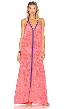 Pitusa Inca Sundress in Coral