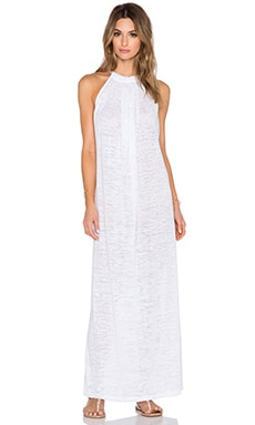 Pitusa Aegean Maxi Dress in White