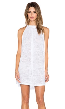 Pitusa Aegean Mini Dress in White