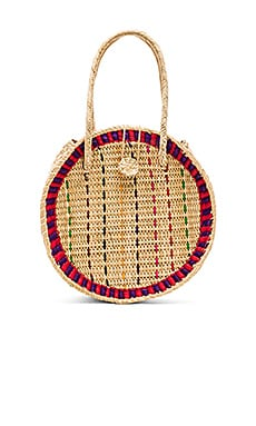 Straw Disco Bag Pitusa $138