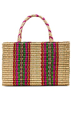 Straw Picnic Bag Pitusa $120
