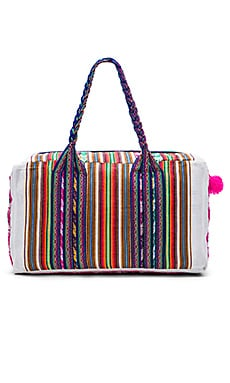 Pitusa Traveler Bag in White