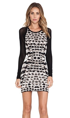 Parker Hartley Knit Dress in Taupe