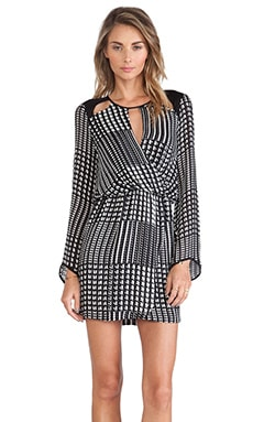 Parker Fisher Combo Dress in Repeat