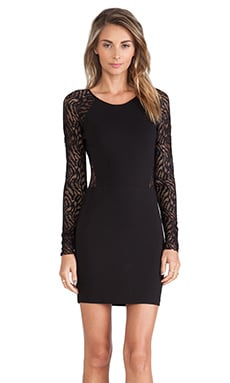 Parker Naomi Dress in Black