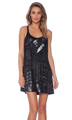 Parker x REVOLVE Embellished Hayden Combo Dress in Black