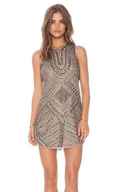 Parker Allegra Dress in Taupe