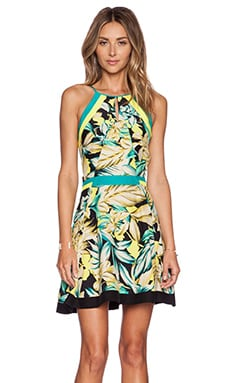 Parker Jessica Combo Dress in Tropicana
