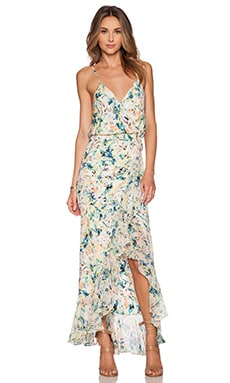 Parker Halle Combo Maxi Dress in Monticello