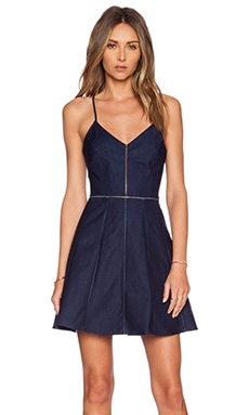 Parker Juliet Dress in Cadet