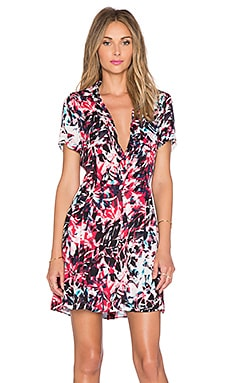 Parker Kelby Combo Dress in Rosebud Cosmic