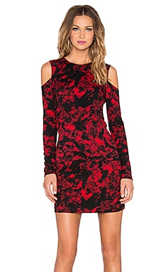 Duffy Dress in Poinsettia Garland
