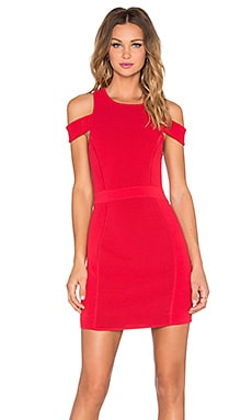 Parker Boomerang Knit Dress in Poinsettia