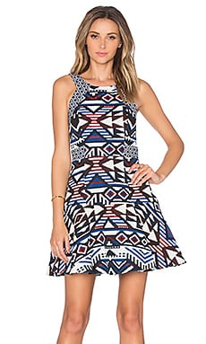 Andover Dress in Multi