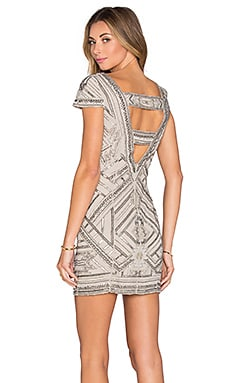 Elijah Embellished Dress in Silver