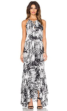 Francesca Maxi Dress in Forestry