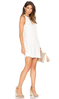Parker Riviera Dress in Pearl