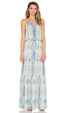 Parker Tudor Maxi Dress in Starlight Marmari