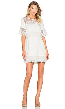 Parker Stephanie Dress in Pearl