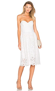 Parker Azalea Dress in White