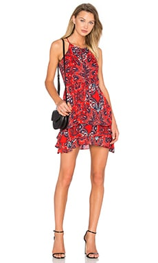 Parker Dax Dress in Flare Bandana