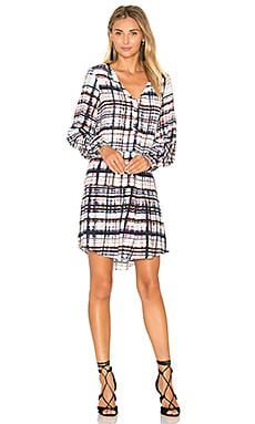 Parker Lacey Dress in Reef Madras