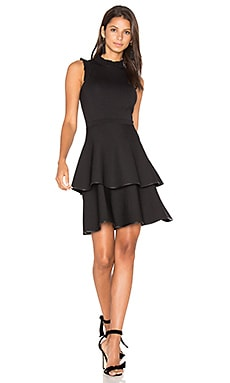 Ryker Knit Dress in Schwarz