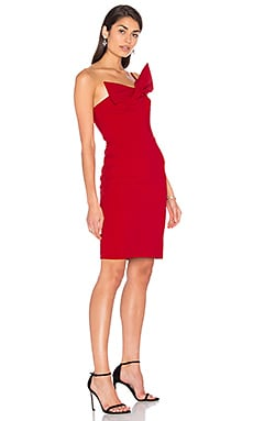 Giulianna Dress in Poinsettia