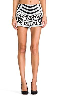 Veda Beaded Shorts in Bl